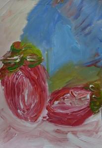 Abundance 4, 2021, A4, acrylic paint on paper - 75 euro