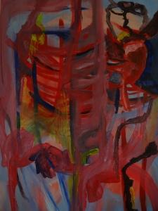 Clara Bolle and Jiske Kosian, 2020, 100 cm x 70 cm, acryl and gouache on paper