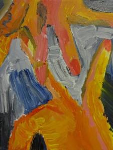 Hand 12, 2020, 30 cm x 30 cm, acrylic paint on canvas - 250 euro
